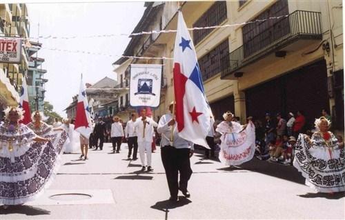 Participación en desfiles patrios
